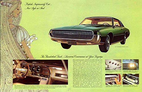 - 1967 Ford Thunderbird Brochure Replica Photo Print 13x19