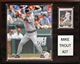 MLB Los Angeles Angels Mike Trout Player Plaque