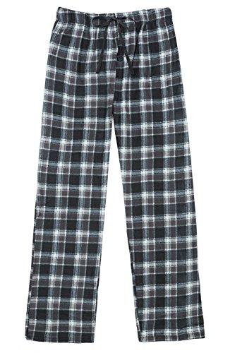North 15 Men's Super Soft, Plaid Polar Fleece Lounge Pants-1225-Print3-Lg (Plaid Lounge Fleece Pants)