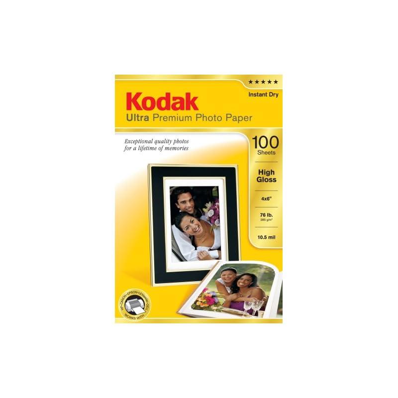 Kodak 8505141 4-Inch X 6-Inch Ultra Prem