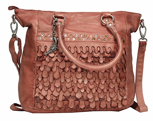 Billy the Kid by Greenburry , Sac à main pour femme rouge Palissandre