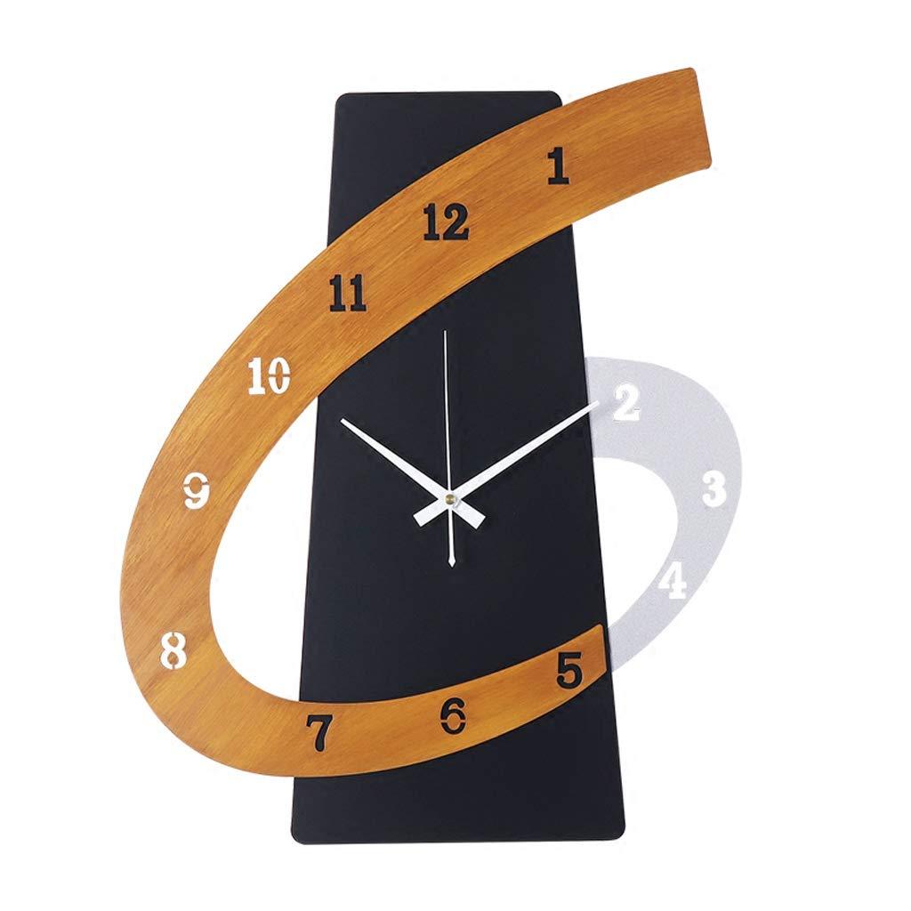 Cxf Wanduhr Große Stille 3D Dekorative Uhr Wohnzimmer Esszimmer Schlafzimmer Minimalistische Wanduhr