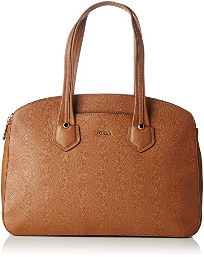 Furla Giada Large Carry-all - Bolsos maletín Mujer Marrón (Nocciola B)