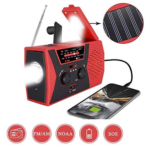 2020 Premium Version EmergencySolarHandCrankRadioPuiuisoul