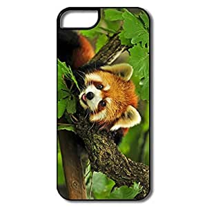 Style Plastic Anti-Scratch Red Panda Tree Iphone 5 Cases Covers by runtopwell