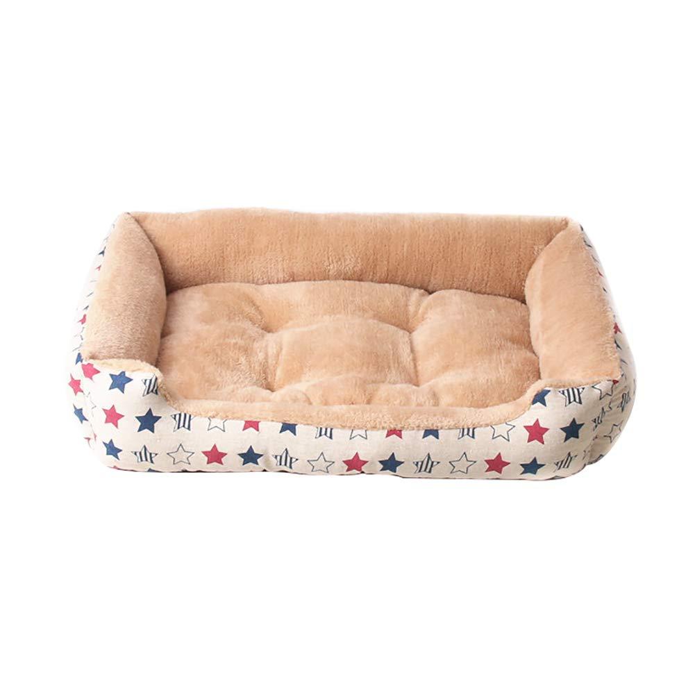 Piccoli Animali Letto in Cotone per Cani Gatti DaoRier Cuccia per Animali Domestici Cuscino per Cani Letto per Cani e Gatti Cuscino Invernale in Peluche