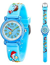Kid's Watch Analogue Quartz 30M Waterproof with 3D...