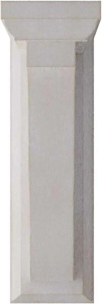 Ekena Millwork BKTWD02X05X07HAWH Hamilton Traditional Vintage Decor Bracket Chalk Dust White 2 1//4W x 5D x 7H