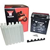 YUASA BATTERY YTX7L-BS AGM open with acid pack