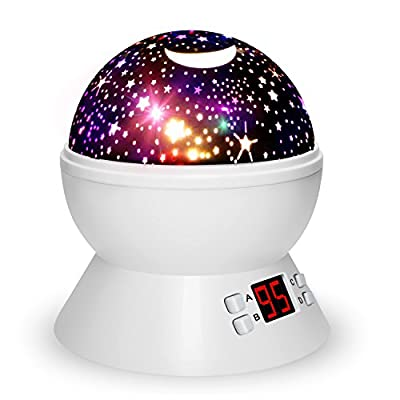 Night Lights for Kids with Timer, Star Projector for Kids and Baby