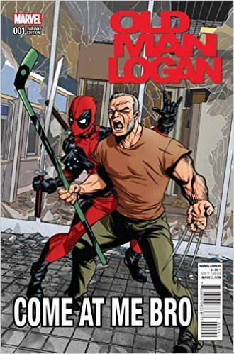 Old Man Logan #1 Cover D Incentive Mike McKone Deadpool Variant Cover