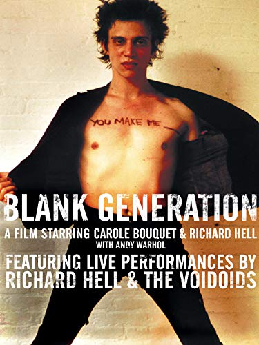 Bouquet Blank - Richard Hell & The Voidoids - Blank Generation