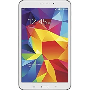 Samsung Galaxy Tab 4 8.0 (AT&T), White (Certified Refurbished)