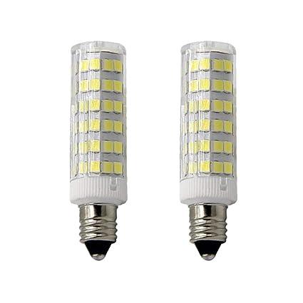E11 Led Light Bulb 5w To 6w 60w 120v 130v Halogen Bulbs Equivalent Mini Candelabra Jd E11 Base T3 T4 Led Bulb Dimmable For Ceiling Fan Indoor