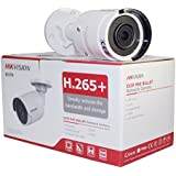 Hikvision 8 Megapixel IP Camera, H.265+ DS-2CD2085FWD-I Bullet Security Camera Outdoor IP67 firmware upgradeable International Version (2.8mm Lens)