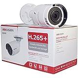 Hikvision 8 Megapixel IP Camera , H.265+ DS-2CD2085FWD-I bullet Security Camera Outdoor IP67 firmware upgradeable International Version (2.8mm lens)