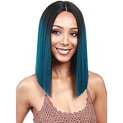 Bobbi Boss Synthetic Lace Front Wig MLF136 Yara (99J)