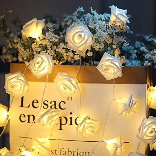 White Rose Led Lights - 3