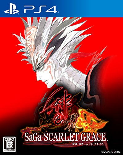 Square Enix SaGa Scarlet Grace SONY PS4 PLAYSTATION 4 JAPANESE VERSION