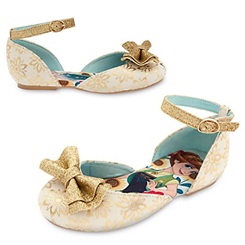 "Disney Store Anna and Elsa - Frozen ""All that Glitters"" Shoe"