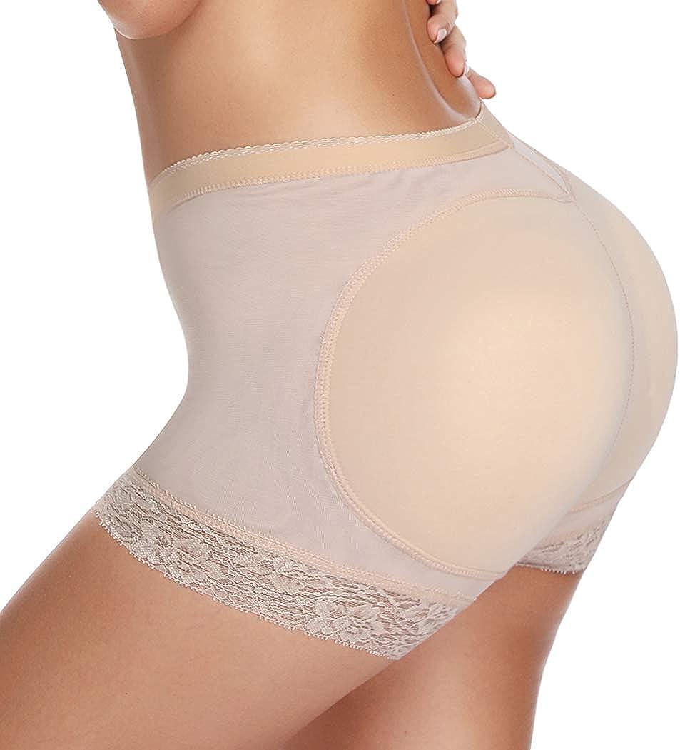Joyshaper Padded Butt Lifter Pants for Women Seamless Hip Enhancer Control Knickers Hipster Buttock Briefs Body Shaper Shapewear Underwear