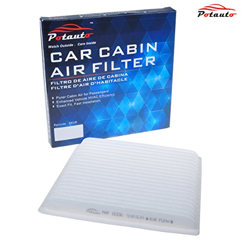 POTAUTO MAP 1033W Cabin Air Filter Replacement compatible with MAZDA, MITSUBISHI, SUBARU, TOYOTA