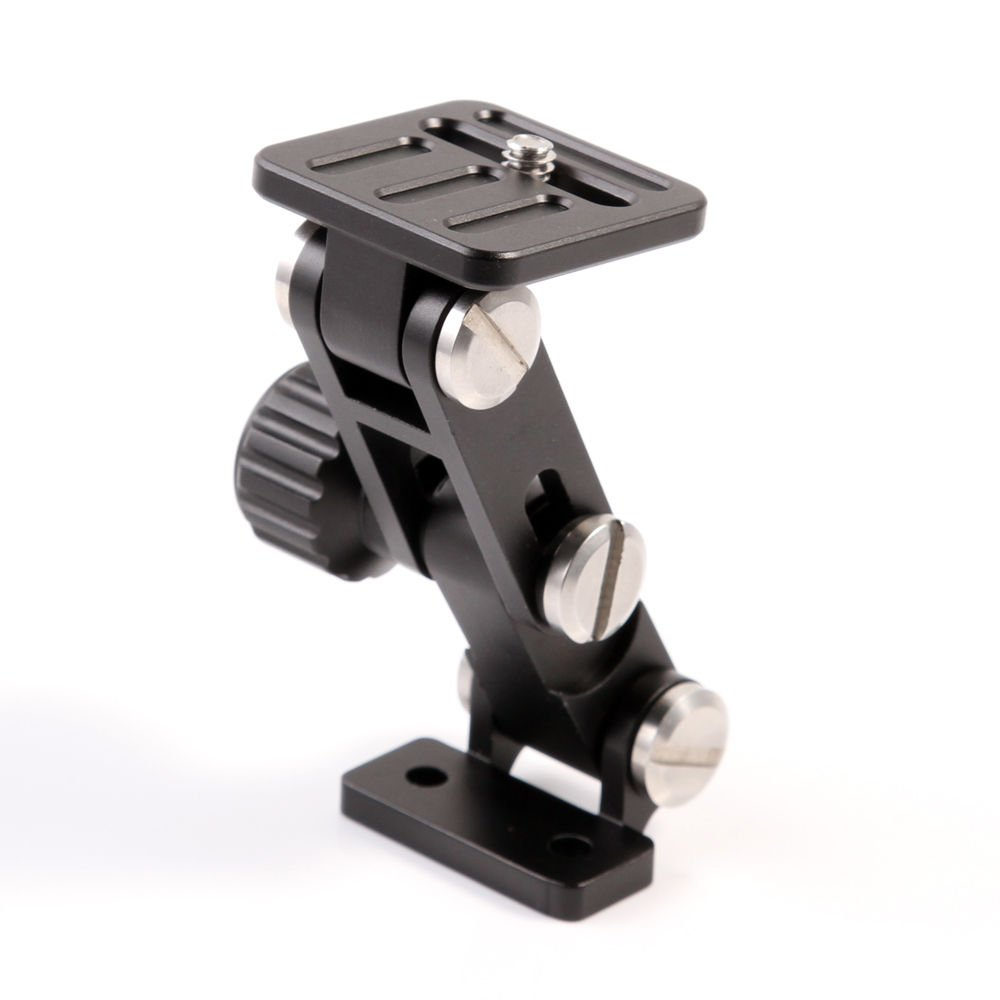 Fotga 250mm QR Quick Release Base Plate + TH-01 Telephoto Zoom Lens Bracket Long-Focus Camera Holder Support for Tripod Mount Ring by FOTGA