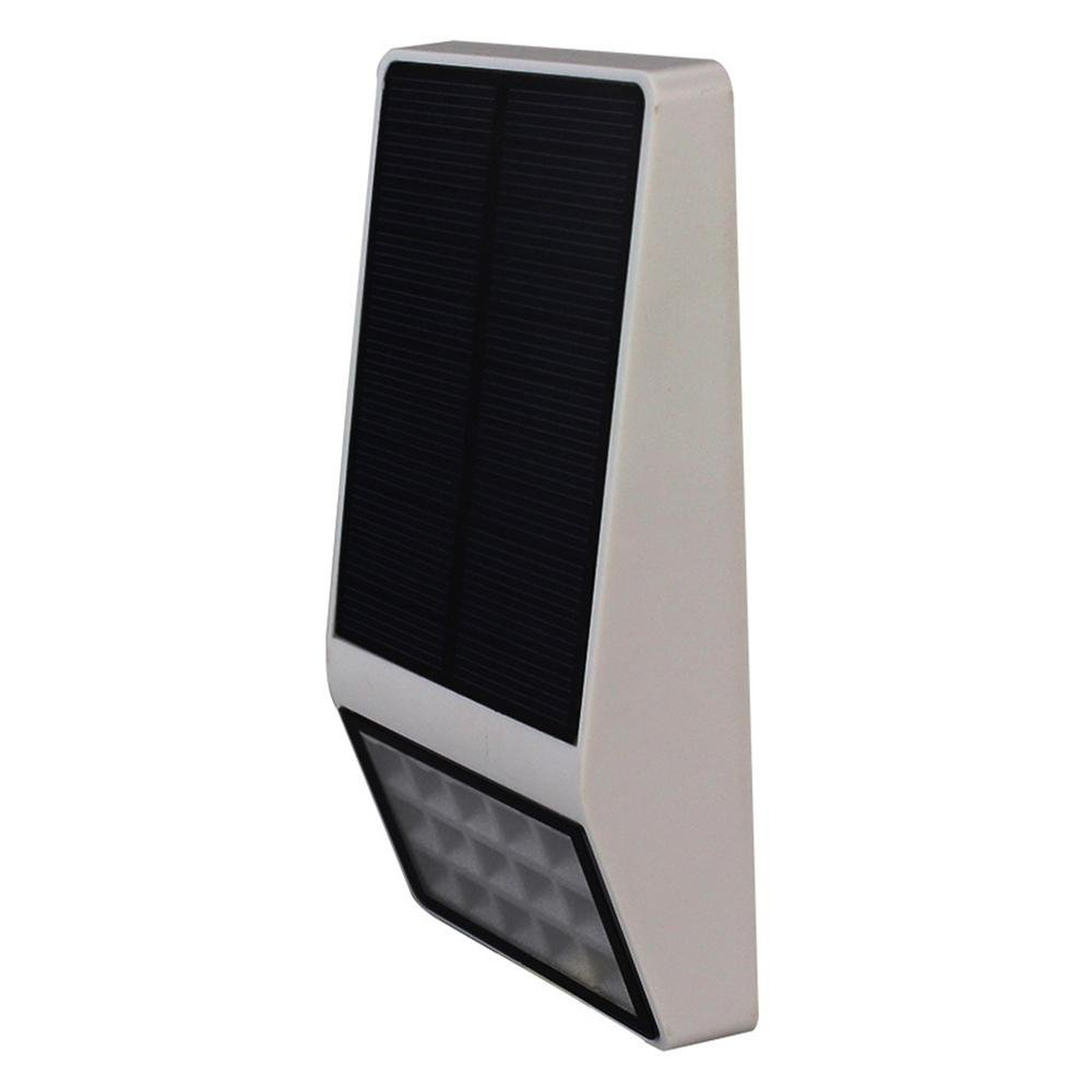 ソーラーライト屋外15 LED、超明るいモーションセンサーライトwith Wide Angleイルミネーションワイヤレス防水セキュリティライトホーム、ヤード、ガーデン 1 Pack ホワイト 6025779904209 B077TW76PK 14550  ホワイト
