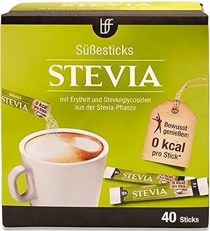 BFF Stevia Süße Sticks 40x2g: Amazon.de: Lebensmittel & Getränke