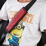 U&M 2 pcs Soft Leather Seat Belt Covers, Seatbelt