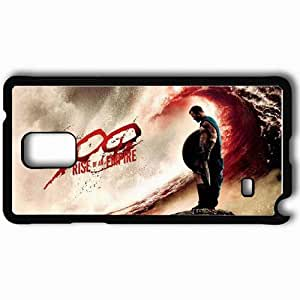 Personalized Samsung Note 4 Cell phone Case/Cover Skin 300 Rise Of An Empire Movie Movie Black