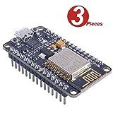 WINGONEER 3Pcs NodeMCU LUA WIFI Internet Development Board Based on ESP8266 CP2102