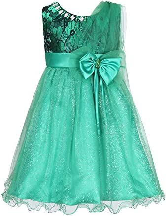 Richie House Girls Princess Party Bridal Dress with Belt Size 3-8Y RH2614