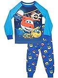Super Wings Boys' Jett Donnie Pajamas Size 4 Multicolored