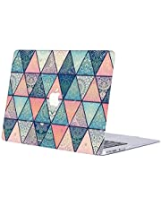 "AQYLQ MacBook Pro 13 Inch Case 2020 Release A2251/A2289, Plastic Hard Shell Case Cover for New Mac Pro 13,3"" with Touch Bar - Colorful Triangle R36"