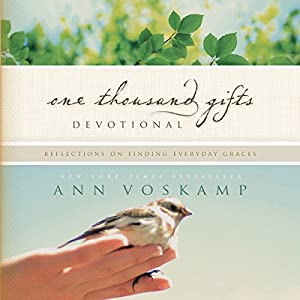 One Thousand Gifts Devotional Audiobook