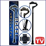 As Seen On TV Ergocane By Ergoactives. Fully-adjustable Ergonomic Cane (Black/Glossy)
