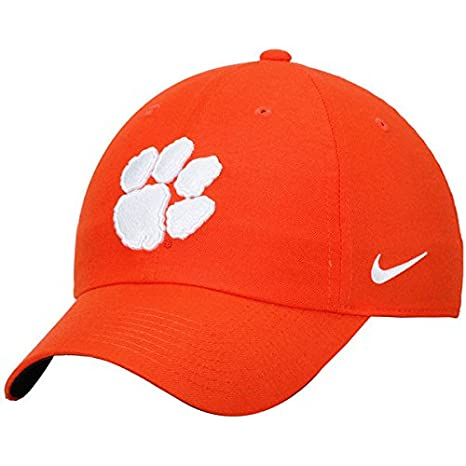 pretty nice e6b7a 35754 Image Unavailable. Image not available for. Color  NIKE Clemson Tigers  Heritage 86 Authentic Adjustable Performance Hat Orange