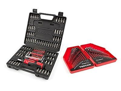 TEKTON 2841 Everybit (TM) Ratchet Screwdriver, Electronic Repair Kit and Security Bit Set, 135-Piece