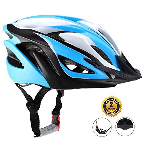 EASECAMP Bike Helmet for Men and Women CPSC Certified (Blue)