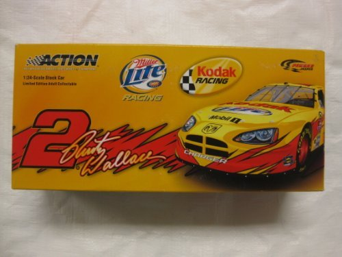 - ACTION 1:24 2005 RUSTY WALLACE #2 MILLER LITE KODAK CHARGER DIECAST NASCAR