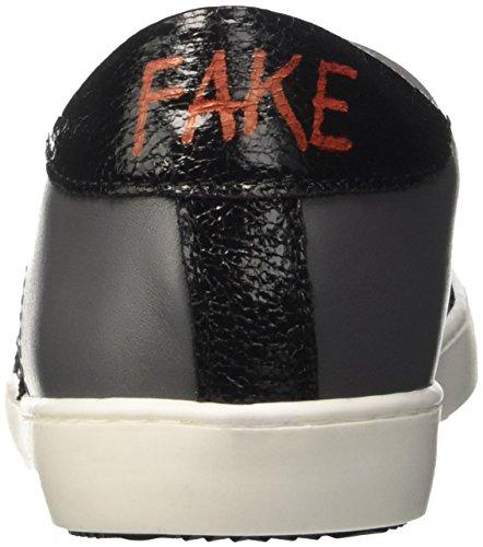 Fake By Chiodo Low F 846, Sandalias con Plataforma Unisex Adulto Grigio (Cenere/ Nero)