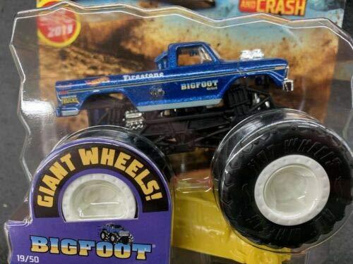 Hot Wheels 2019 Monster Trucks Giant Bigfoot 1:64 Scale