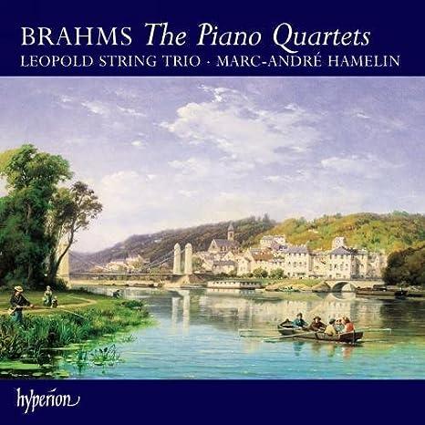 Marc Andre Hamelin, J. Brahms, Leopold String Trio - Brahms: Piano Quartets  Nos.1-3, Intermezzi Op.117 - Amazon.com Music