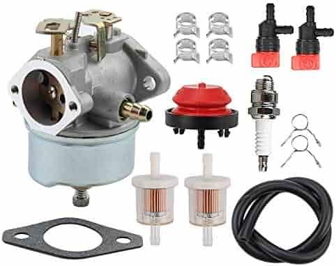 savior am108405 carburetor fuel filter shut off valve for john deere snow  blower thrower trs22 trs24