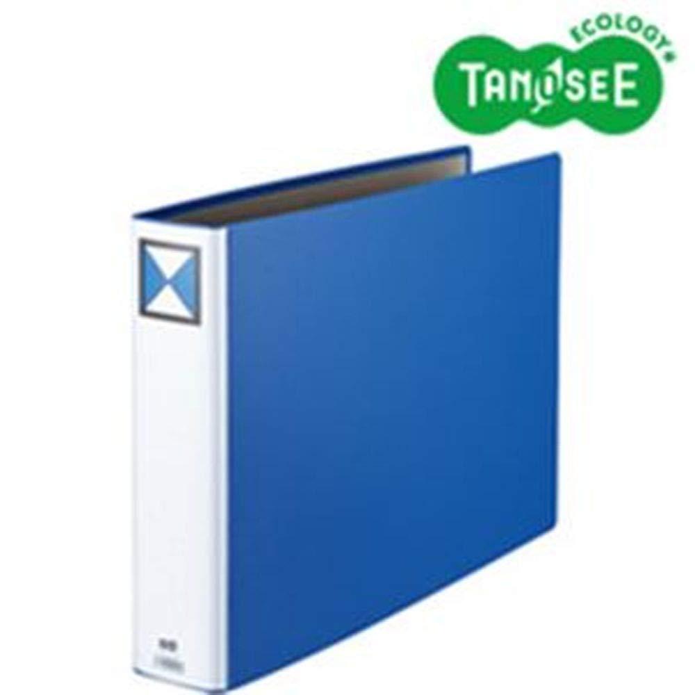 ==まとめ== 両開きパイプ式ファイルA3-E60mmとじ青10冊 B07TKWCCXY