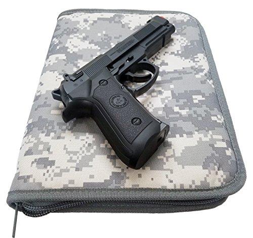 Padded Pistol Soft Case Pistol Rug (ACU) (Case Rug Pistol)