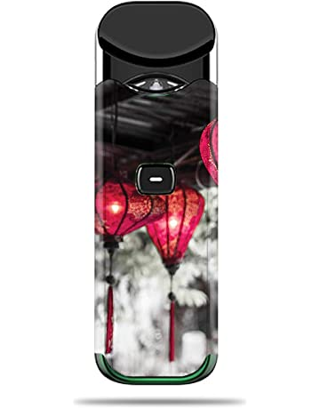 MightySkins Skin for SMOK Nord - Red Lanterns | Protective, Durable, and Unique Vinyl