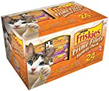 Friskies Prime Filets Meaty Selections 24-Count Variety Pack, Poultry and Beef, 8.25-Pound Box, My Pet Supplies