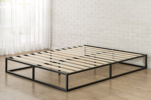 Zinus Joseph Modern Studio 10 Inch Platforma Low Profile Bed Frame / Mattress Foundation / Boxspring Optional / Wood slat support, Twin